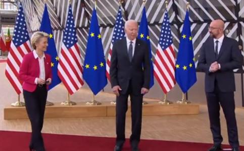 انتقاد بایدن از موضع ترامپ درباره اتحادیه اروپا