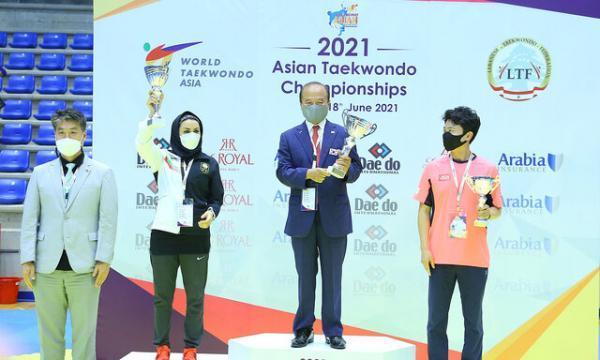 نایب قهرمانی تاریخی تکواندوی بانوان ایران در آسیا، تیم مردان سوم شد