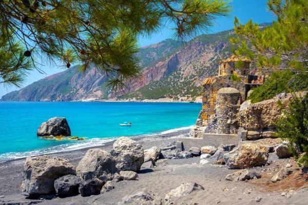 سواحل رویایی و زیبای یونان