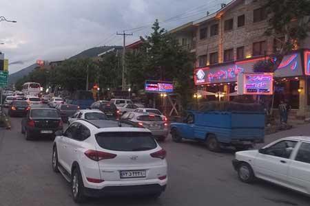 ترافیک سنگین در اغلب جاده های تهران ـ شمال و محور فشم