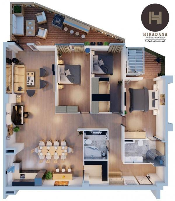 5 نکته در طراحی نقشه ساختمان مسکونی