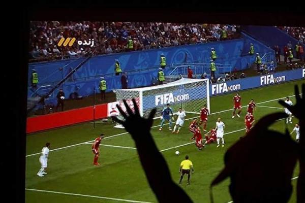 پخش زنده بازی ایران و عراق در آمفی تئاتر روباز باغ کتاب