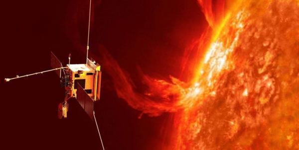 نخستین فیلم کاوشگر سولار اوربیتر از فوران خورشیدی