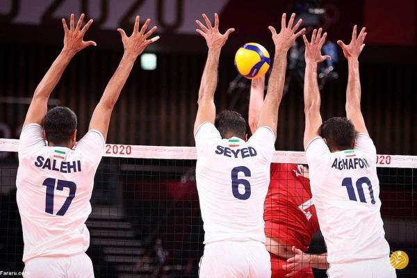 غافلگیری بزرگ در المپیک؛ شکست سنگین والیبال ایران