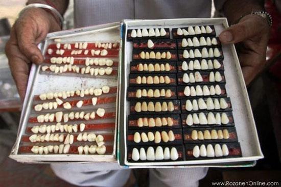 دندانپزشکی خیابانی در هند!