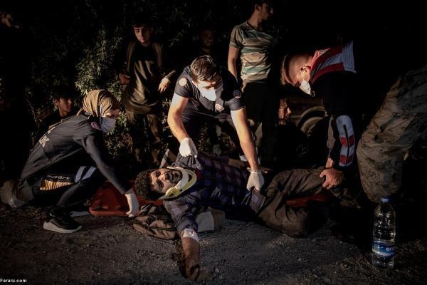 تصاویر تکان دهنده از حمله به پناهجویان سوری در آنکارا