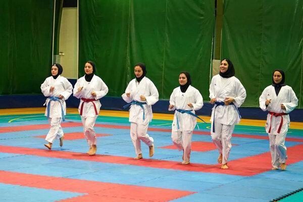 تشریح برنامه های تیم ملی کاراته بانوان، اعزام 6 کاراته کا به مسکو